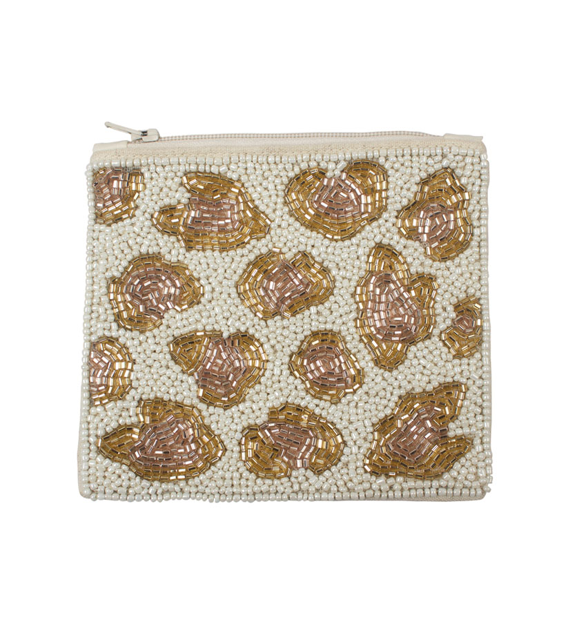 A la Collection - Coin Wallet Leopard Print