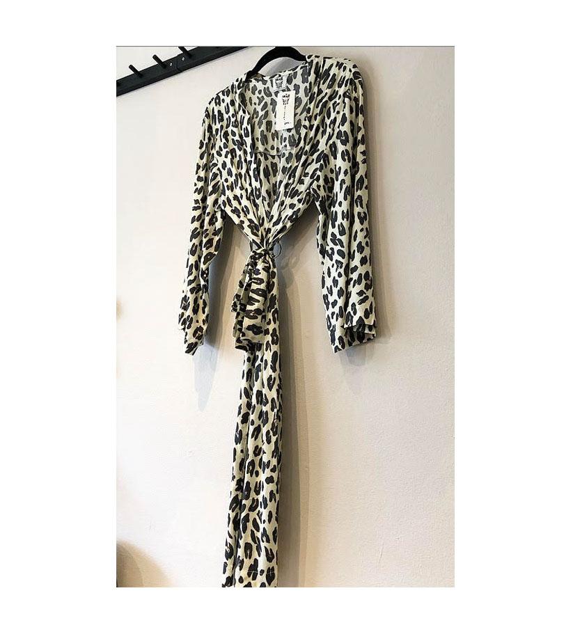 Stajl – Kimono Susane Leopard Cream
