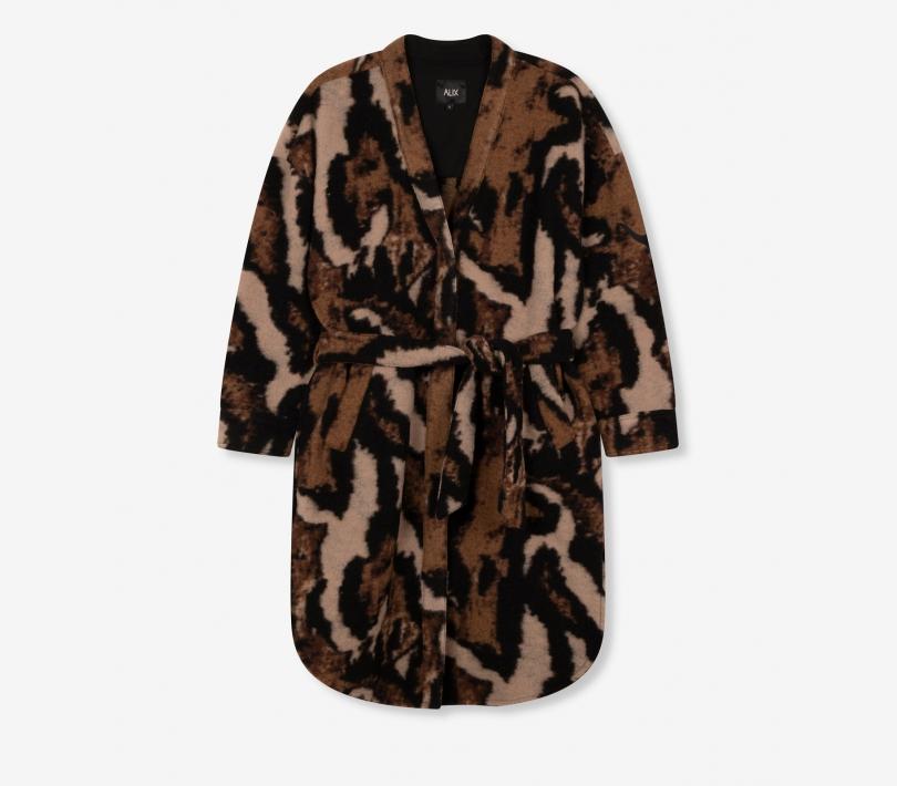 Alix the Label - Animal Felted Wool Jacket