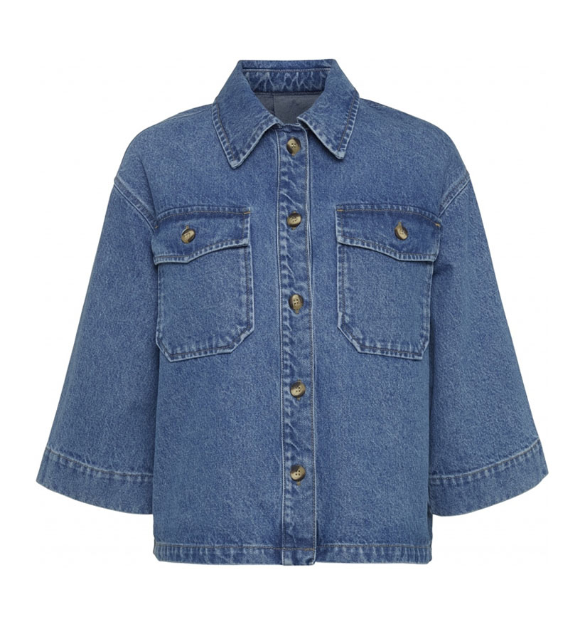 Norr - Lara Denim Shirt