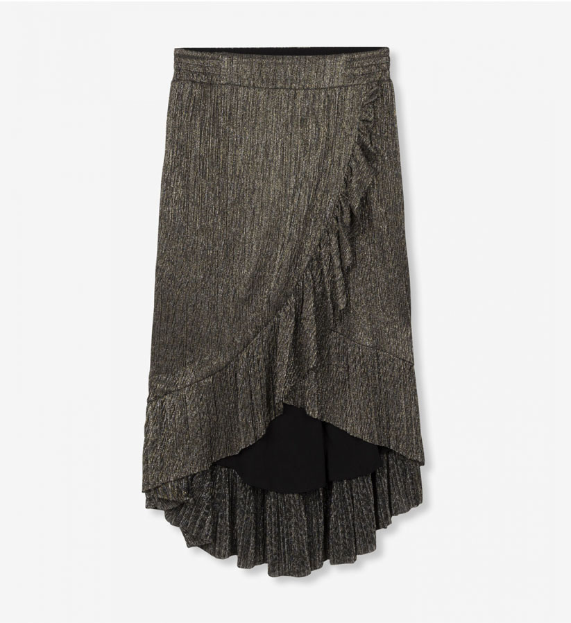 ALIX The Label - Lurex Mesh Skirt
