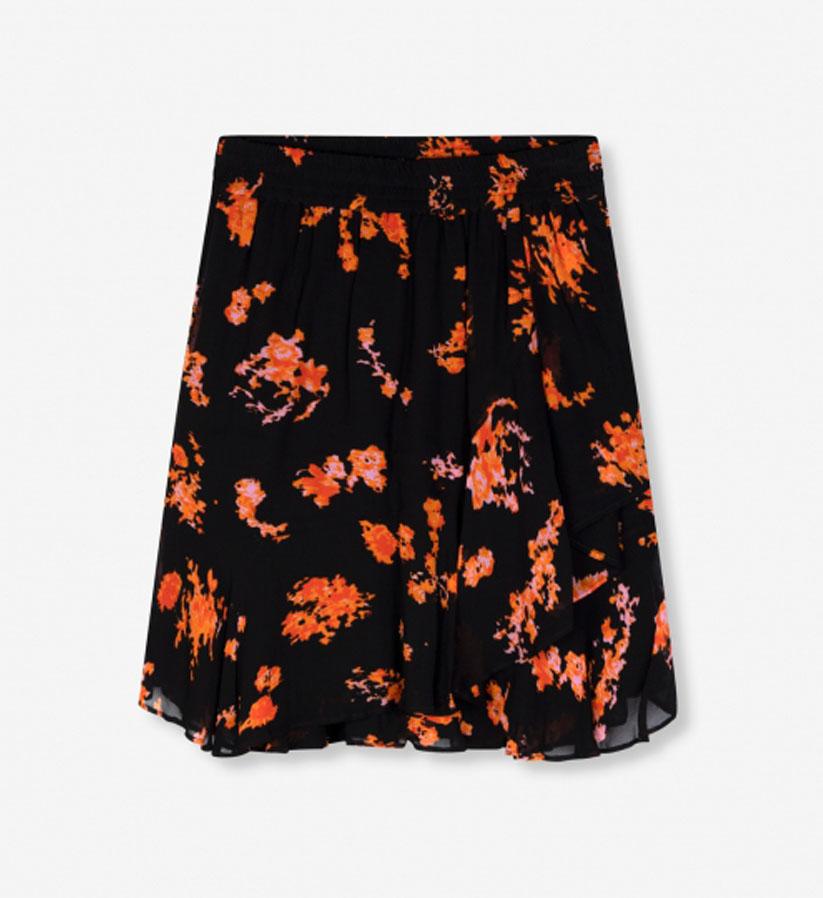 ALIX The Label - Flowers chiffon skirt
