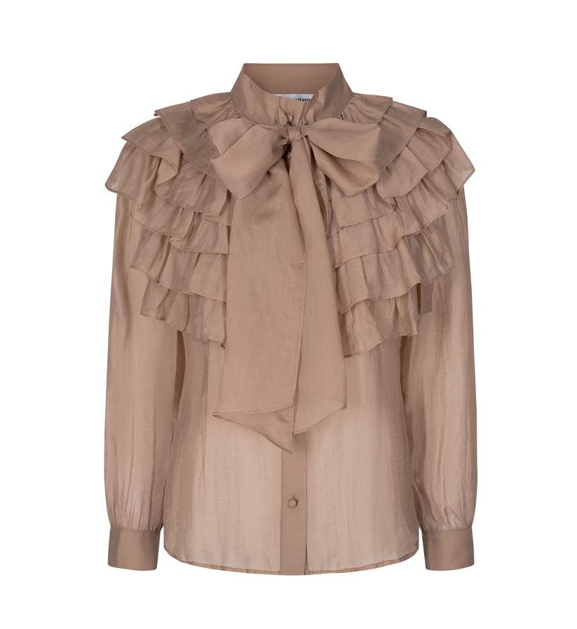 Co´couture - Jade Jagger Frill Shirt