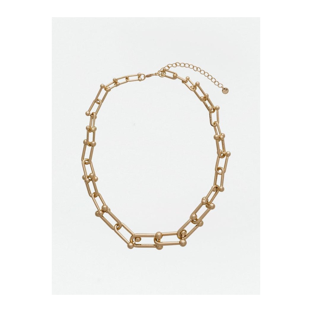 Bow 19 - Anna Large Necklace Gold