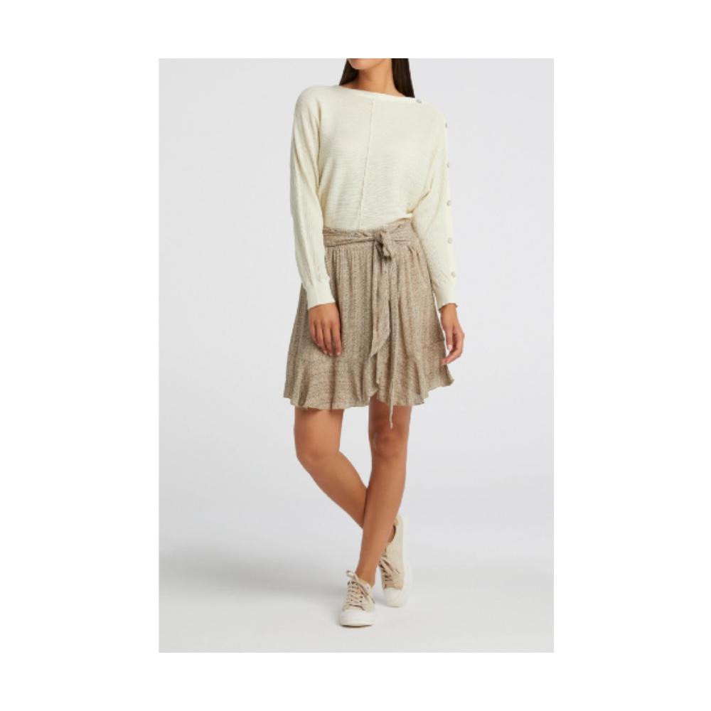 YAYA - Printed Mini skirt