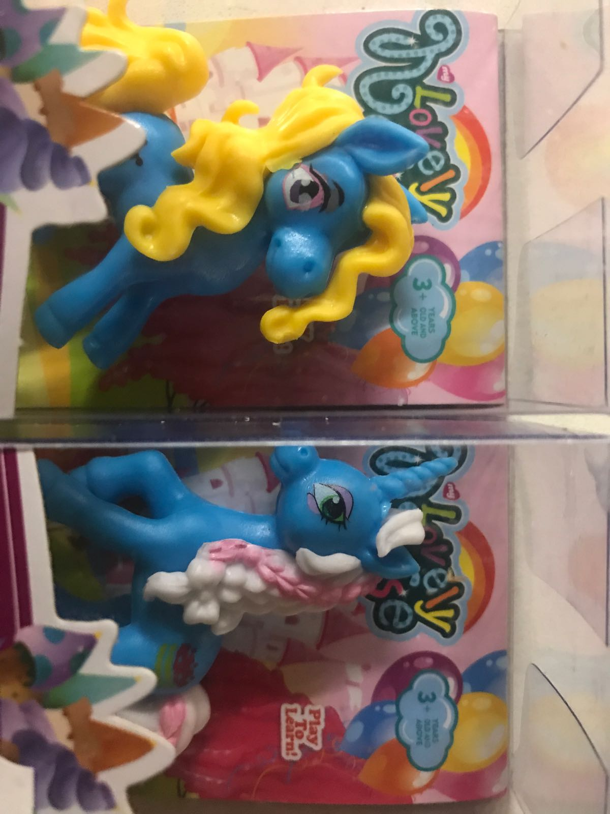 Mini Ponny i box