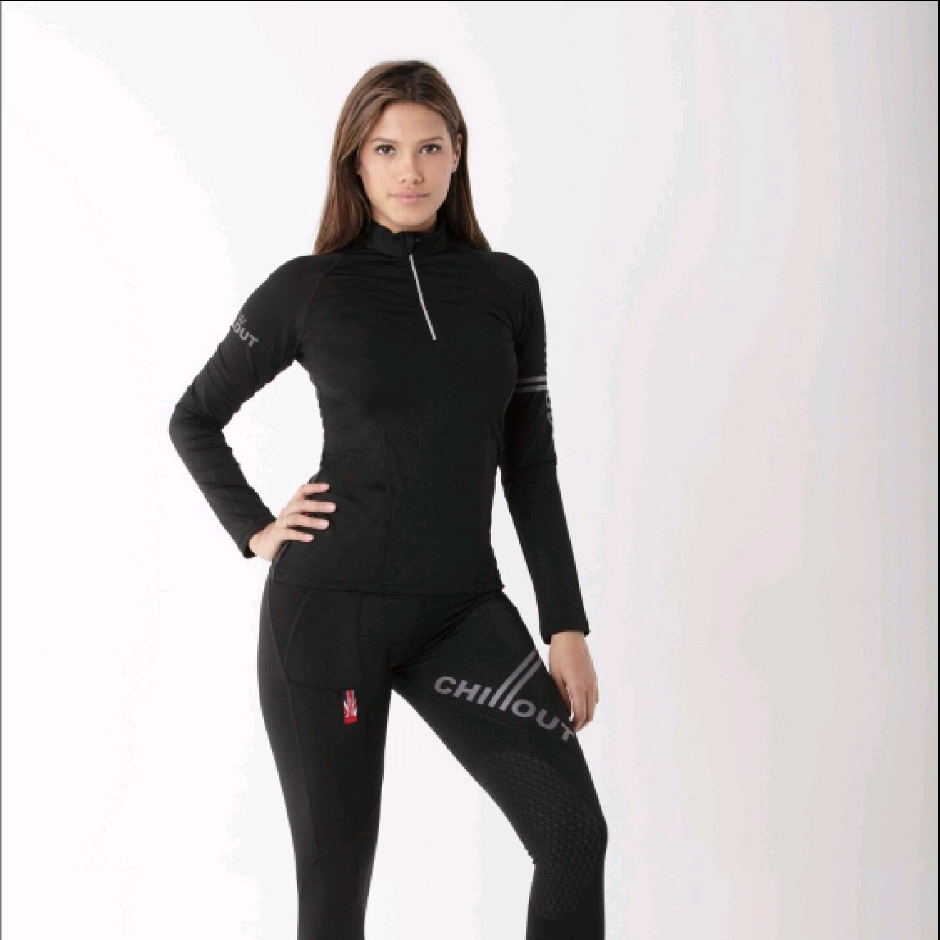 Chillout Black Baselayer Top