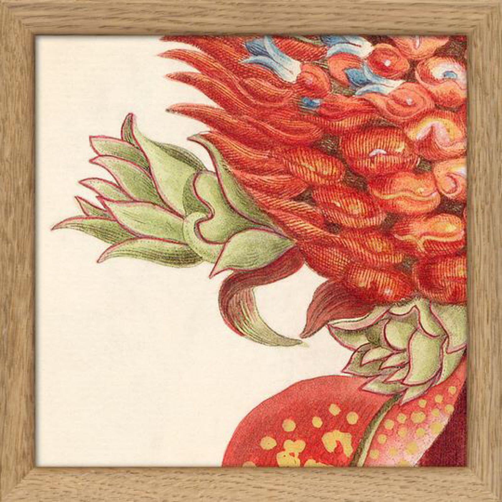 Red Plant 15x15