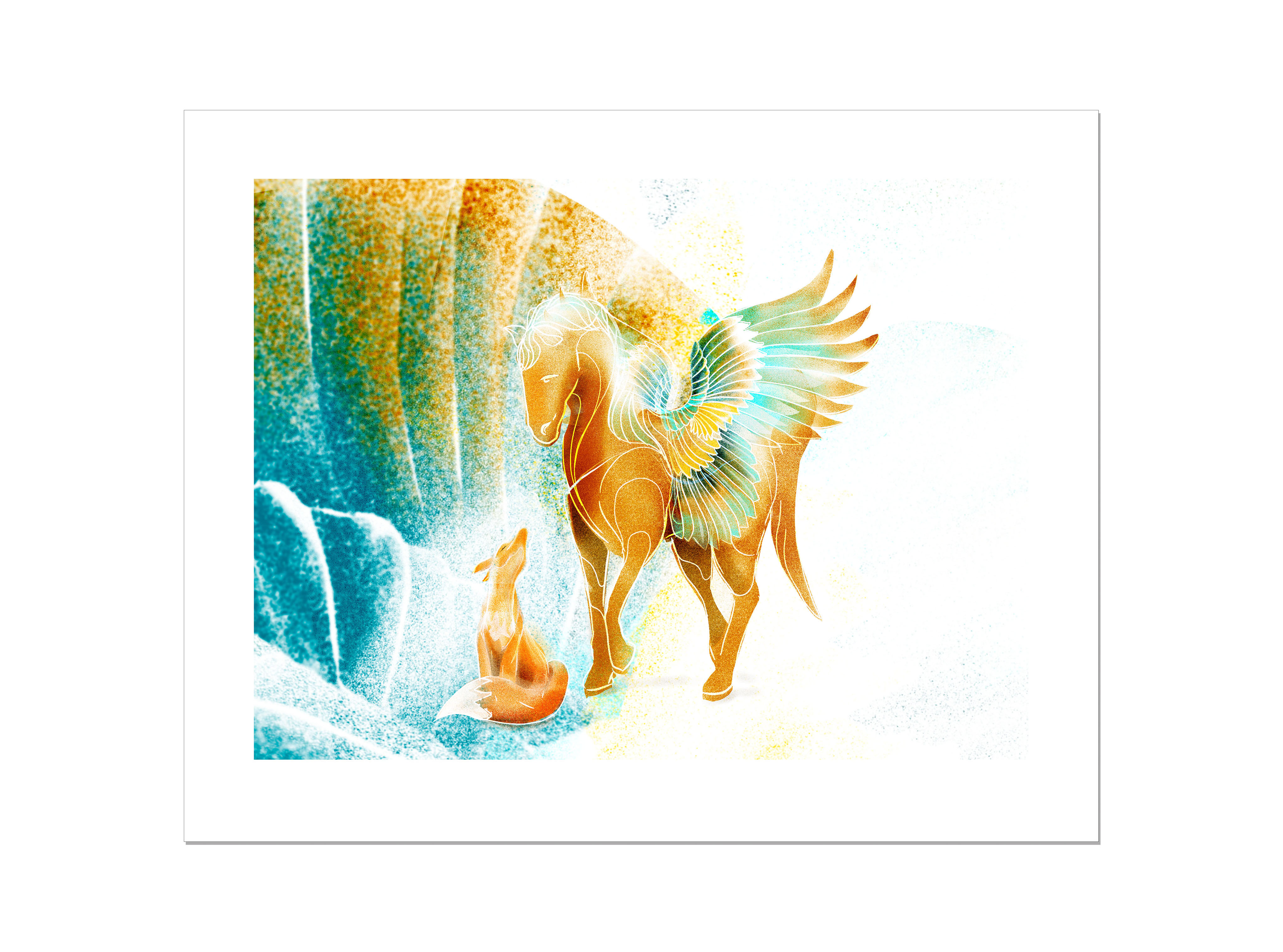 Horse and Fox LO