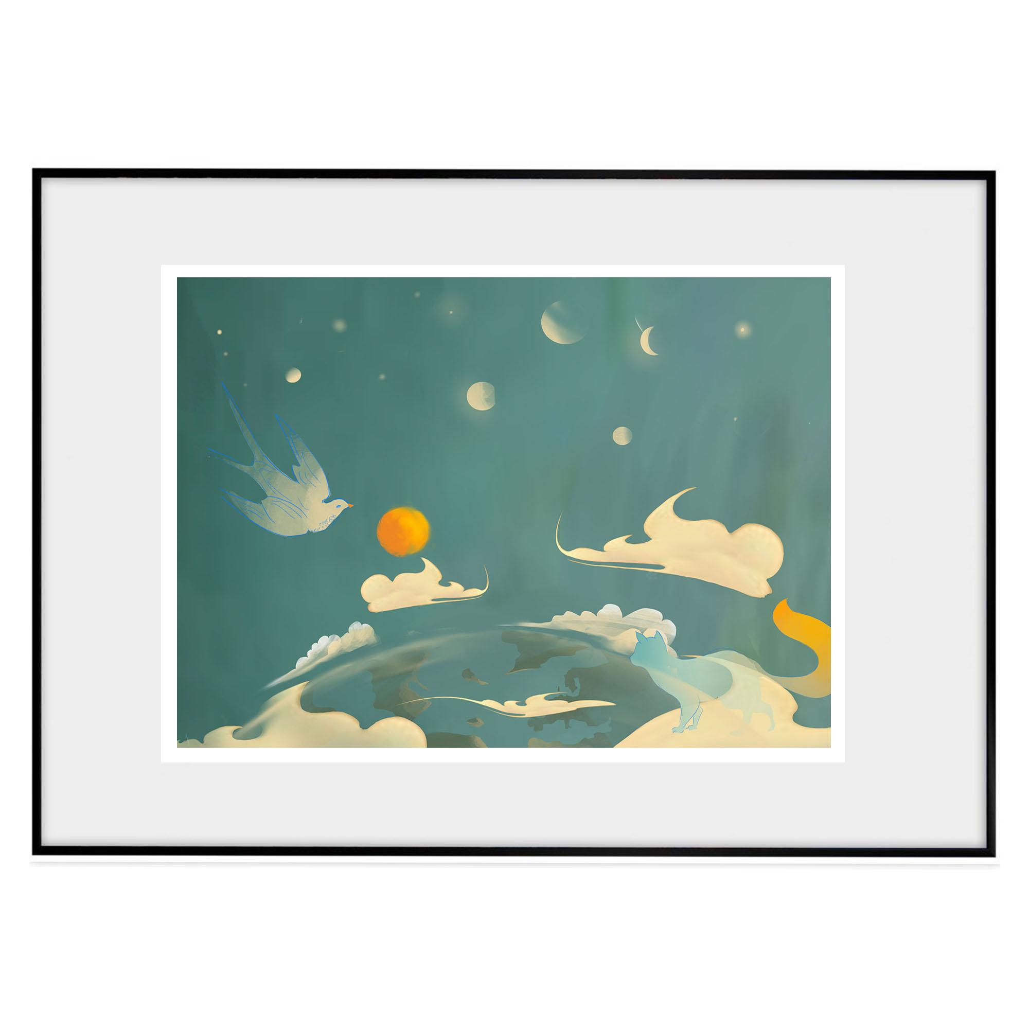 Planeten från rymden