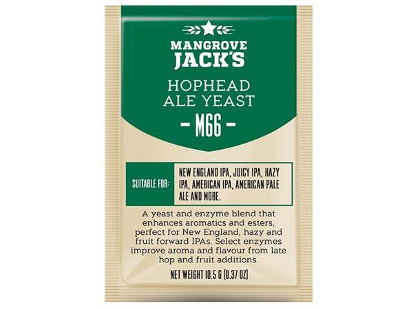 Hophead Ale M66 10g Tørrgjær, for New England IPA