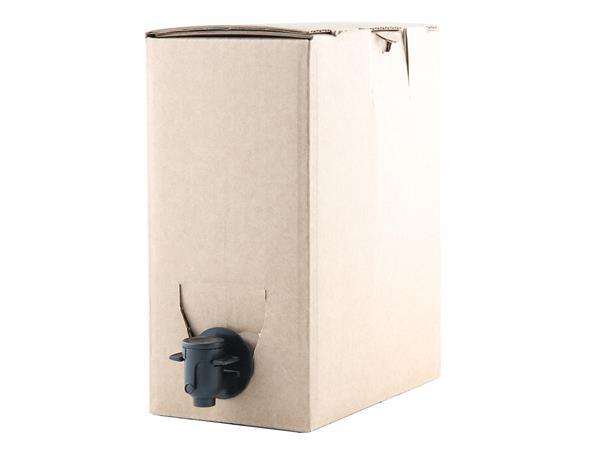 8-pack, bag in box 3 liter Inkludert poser