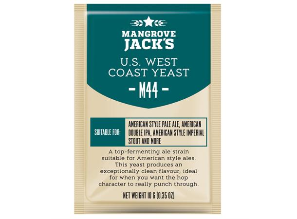 U.S. West Coast M44 10g Tørrgjær, for Amerikanske øl