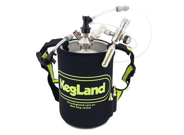 5 liters Mini Keg med tappeløsning komplett pakke