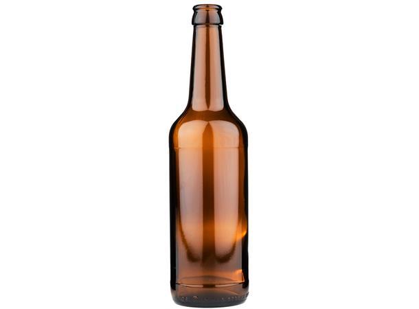 Flasker i eske 0,5 liter 24stk 26mm kronekapsel