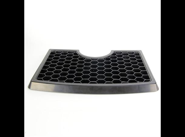 Dryppbrett for tappetårn i plast for tappetårn med opptil 120mm diameter