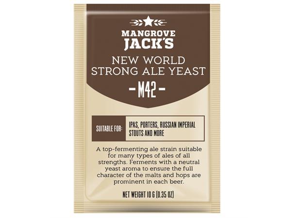 New World Strong Ale M42 10g Tørrgjær, for Engelske øl