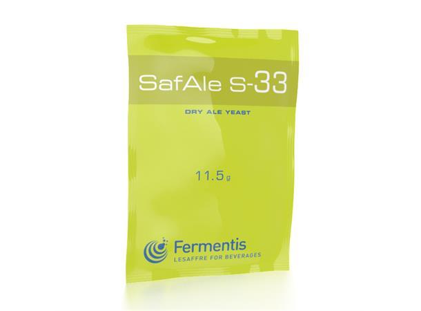 SafAle S-33 11,5 g, Tørrgjær for belgiske spesialøl