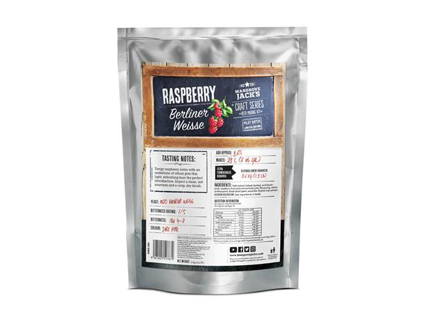 Raspberry Berliner Weisse Ale Pouch Limited Edition Craft Series