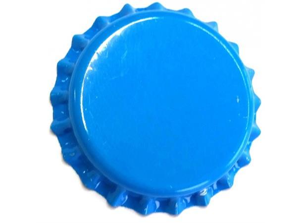 Flaskekapsler 26 mm, Blå 100 stk