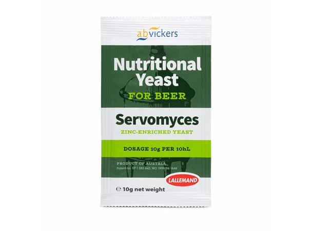 Gjærnæring 10g Servomyces D50