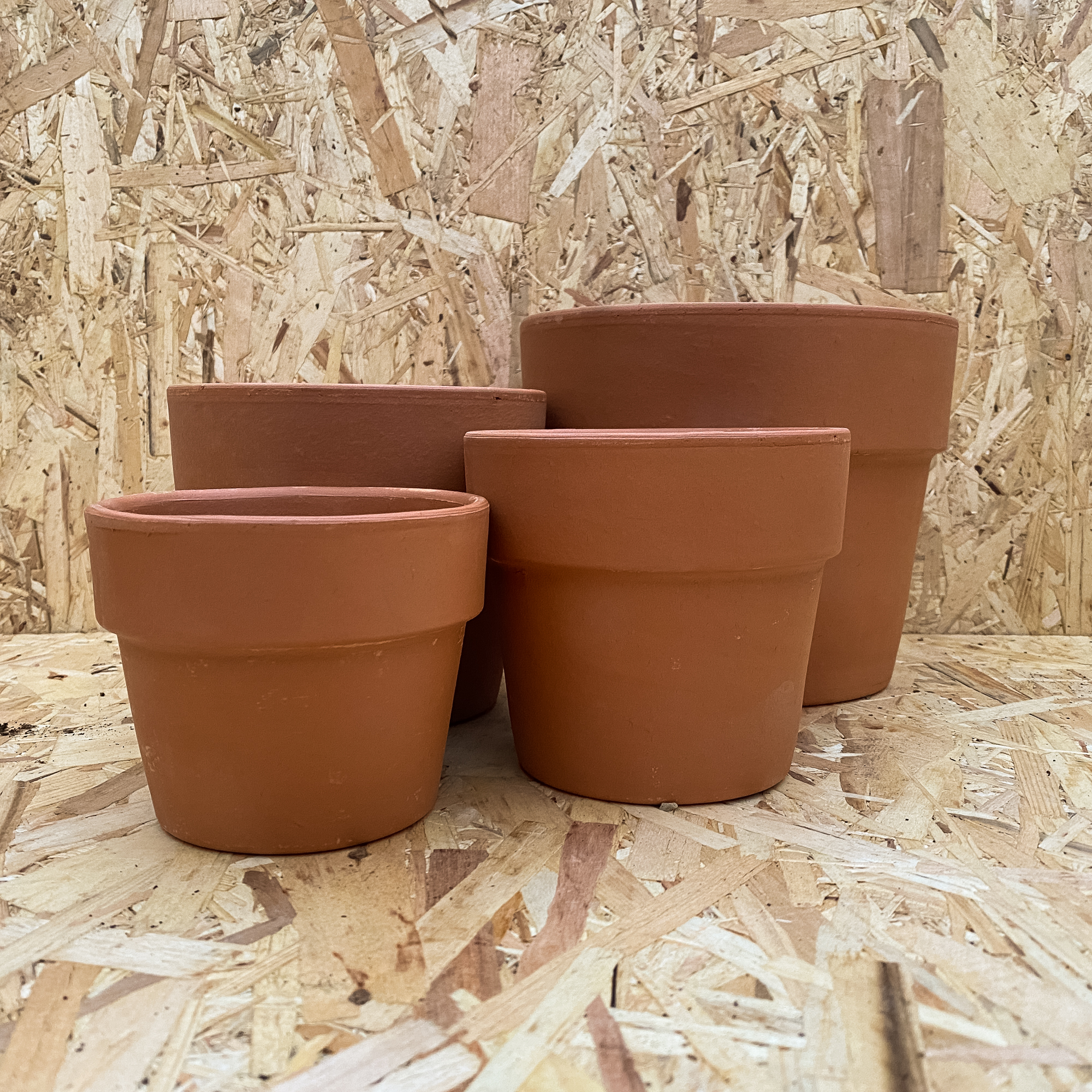 Terracotta Cache Pot