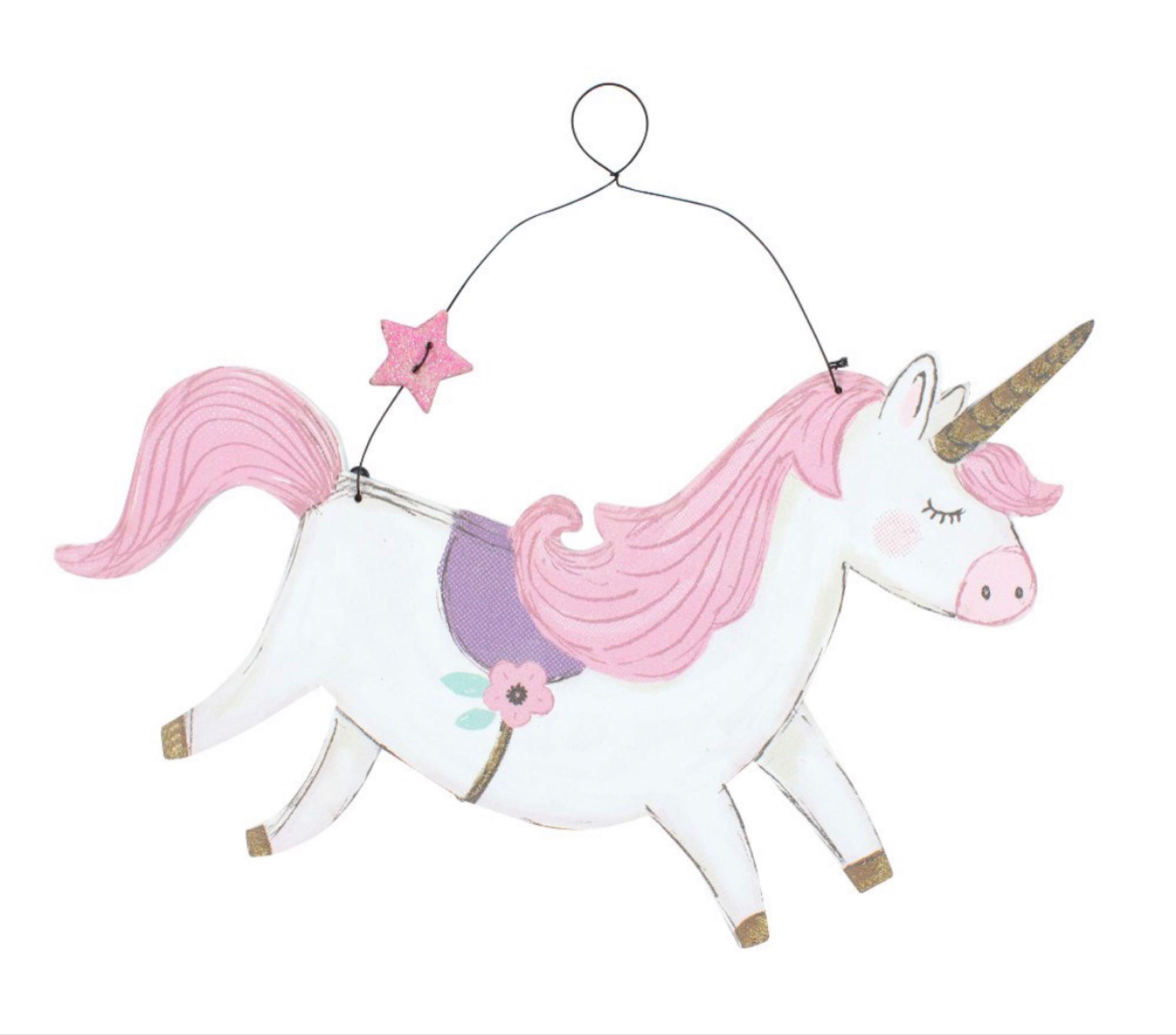 Unicorn hanger