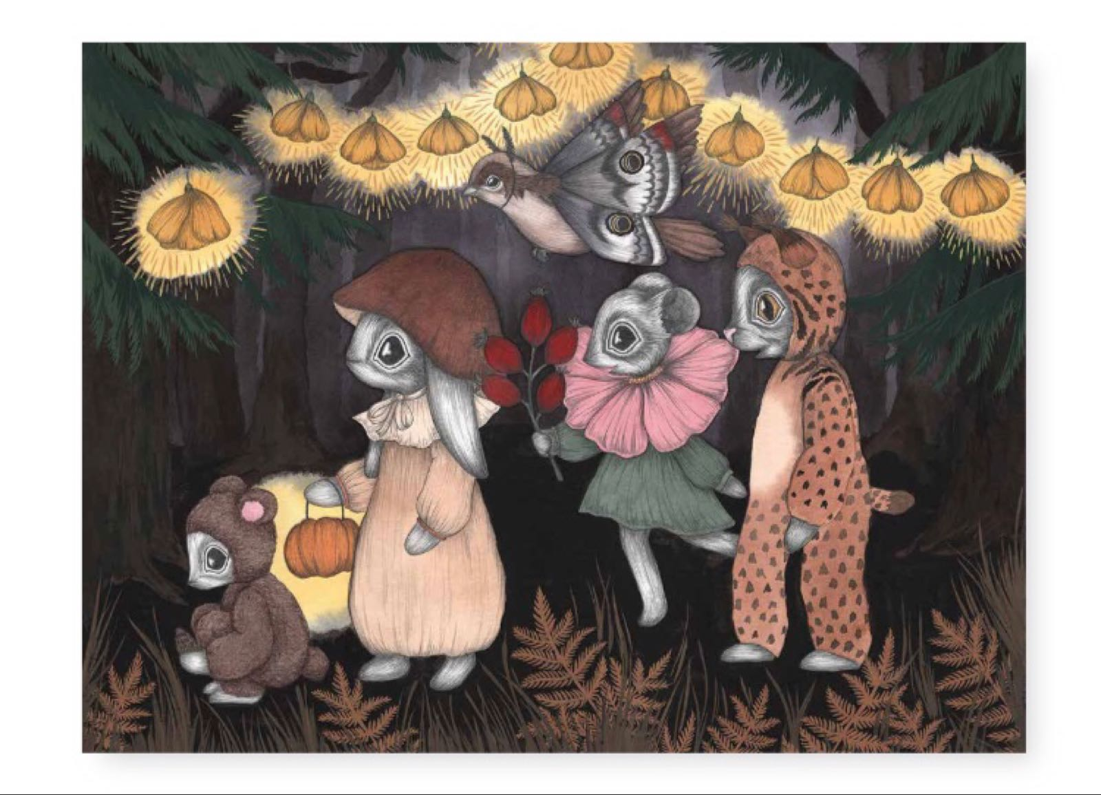 Kajsa Wallin - Pussel The Forest Animals