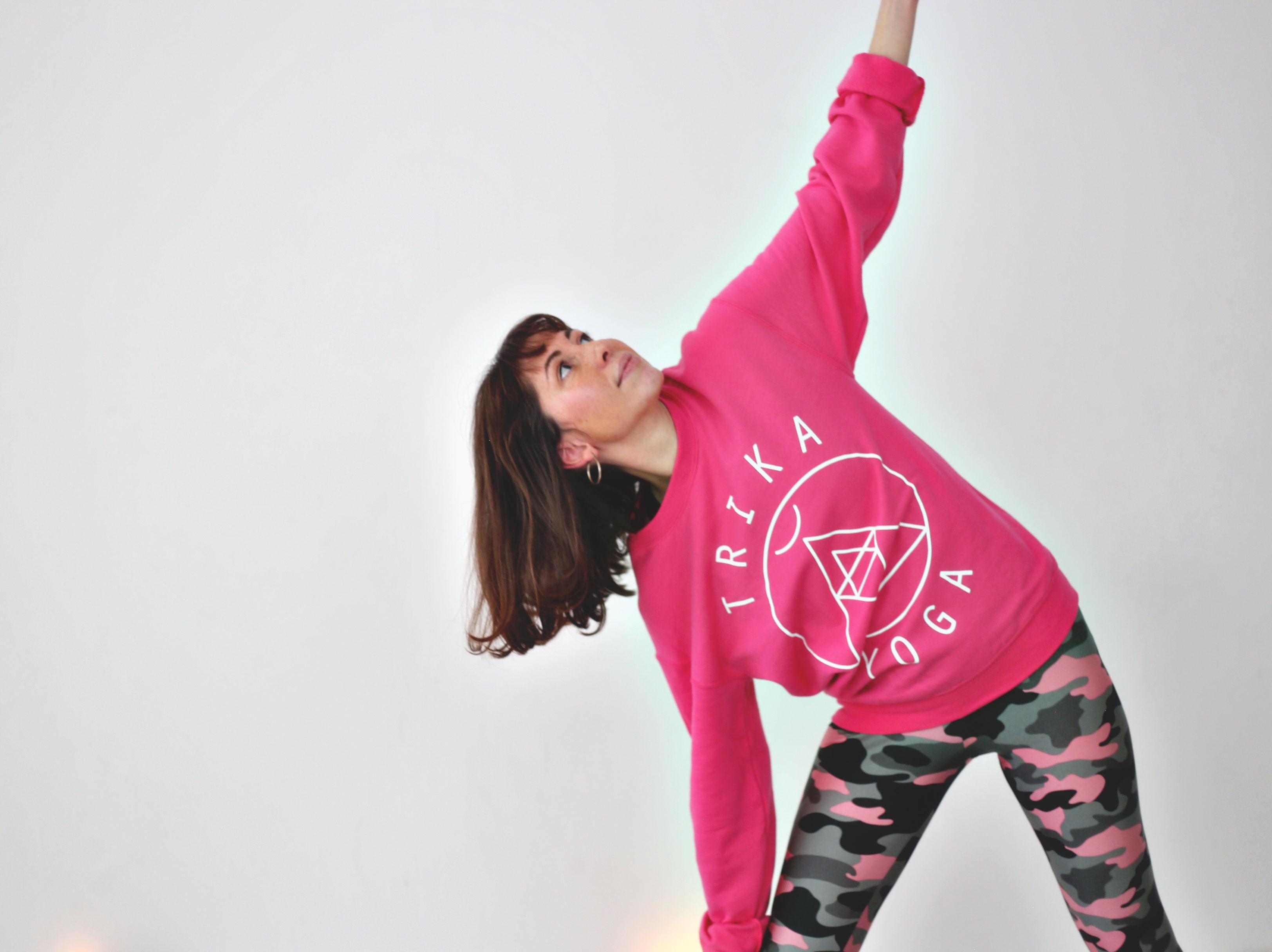 Hot Pink Logo Jumper
