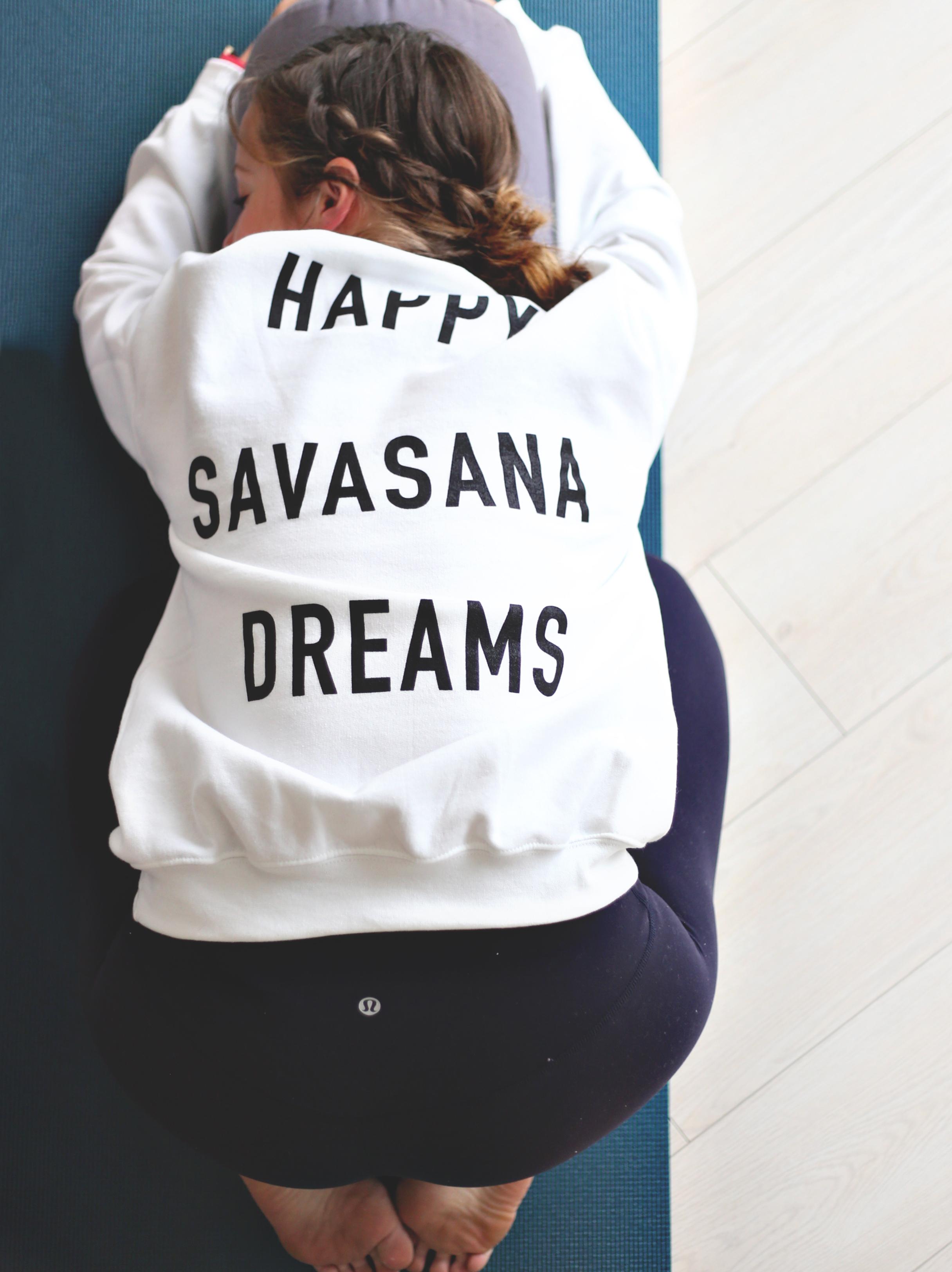 Cloud White Savasana Jumper