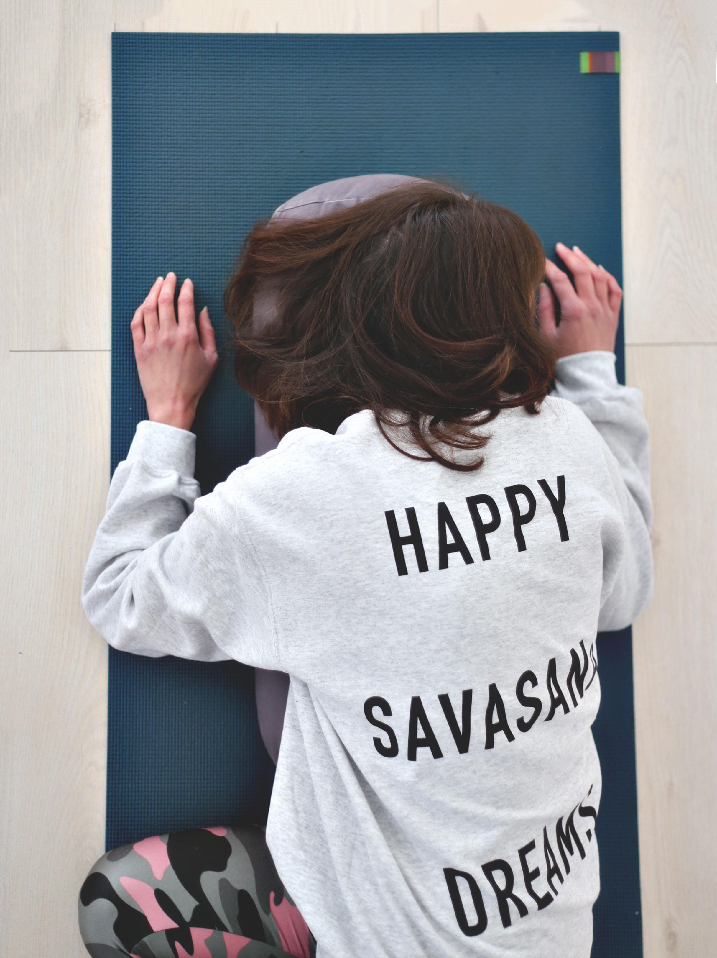Ash Grey Savasana Jumper