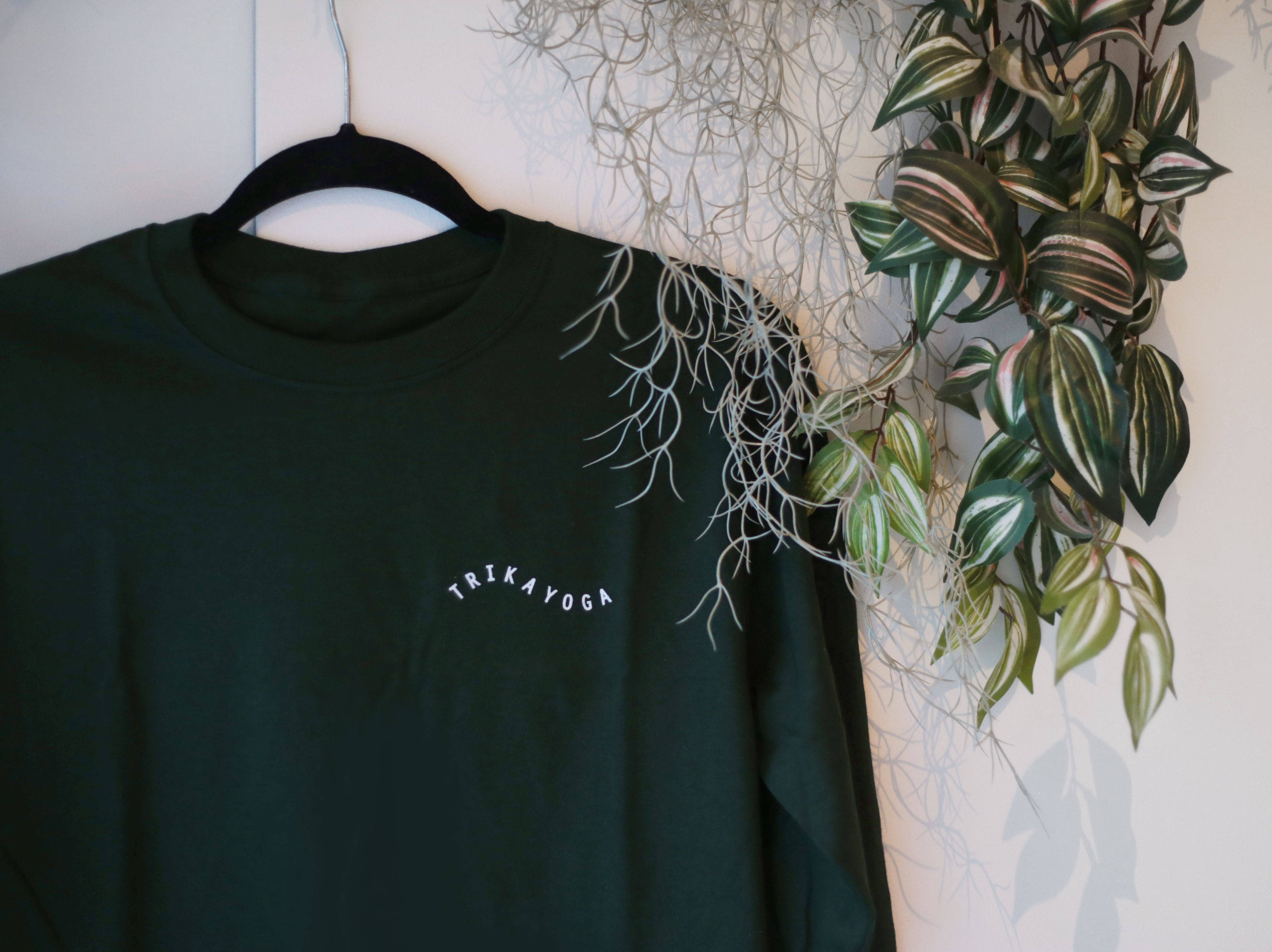 Forrest Green Long Sleeve Logo Tee