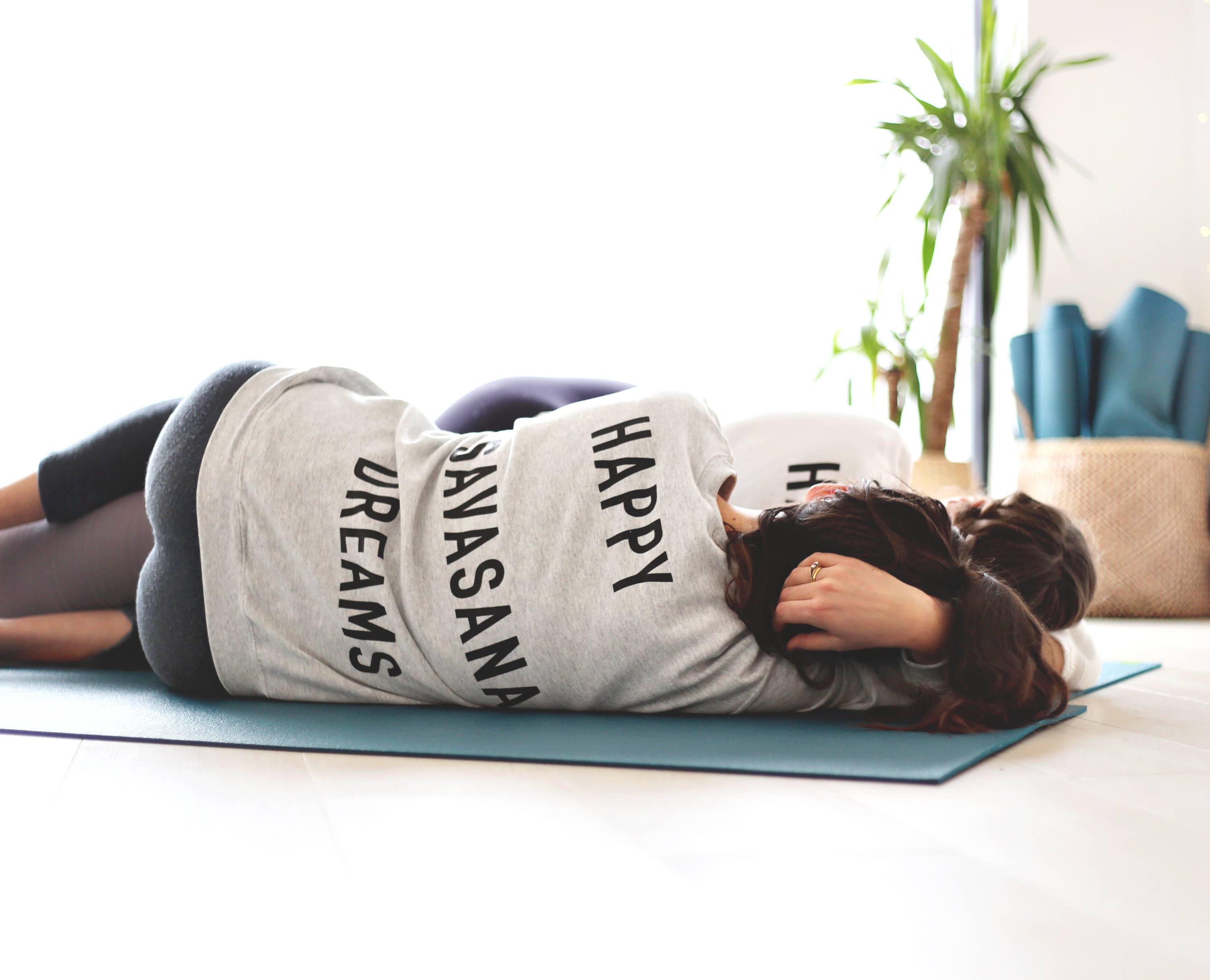Ash Grey Savasana Jumper