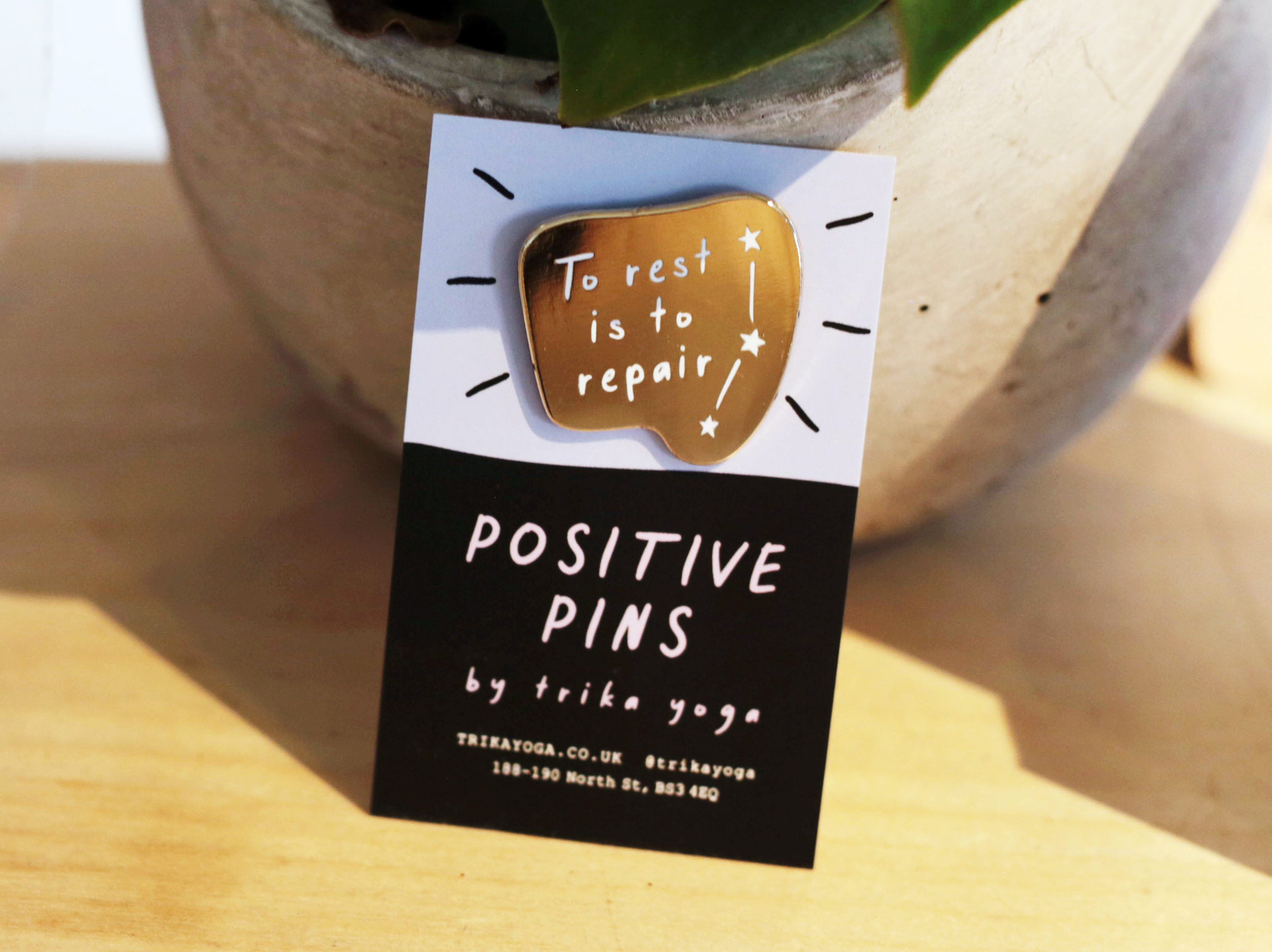 Positive Pins: To Rest is To Repair