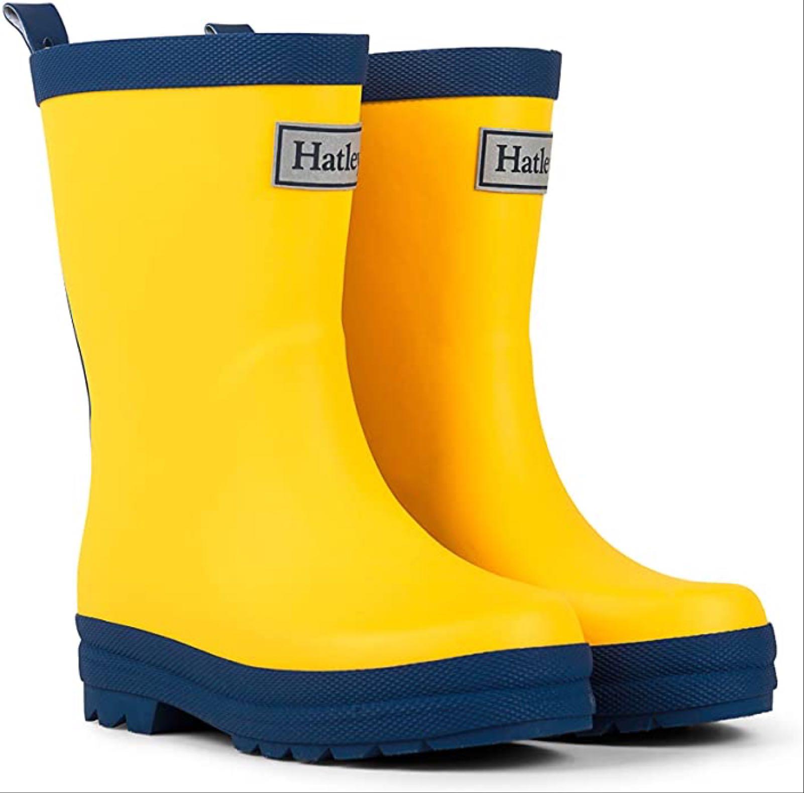 HATLEY Rain Boots Yellow RB0YELLOW345