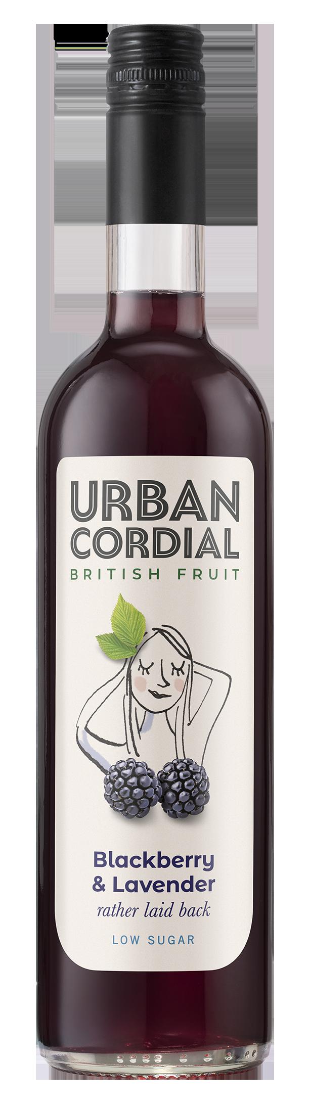 Blackberry & Lavender Cordial by Urban Cordial 500ml