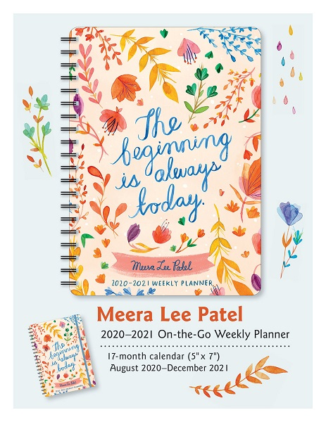 THE BEGINNING  - Meera Lee Patel - 2021 Weekly Planner