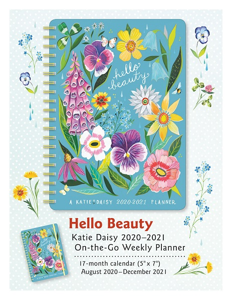 Hello Beauty Katie Daisy Weekly Planner