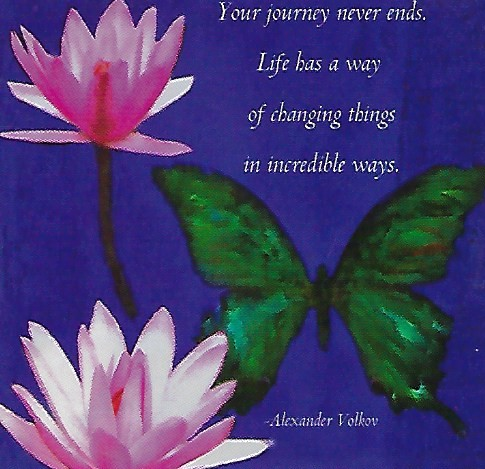 Your Journey Never Ends.... Magnet