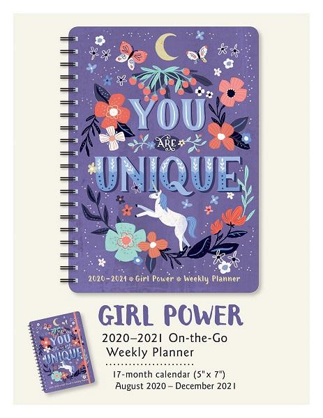 Girl Power 2021 Weekly Planner