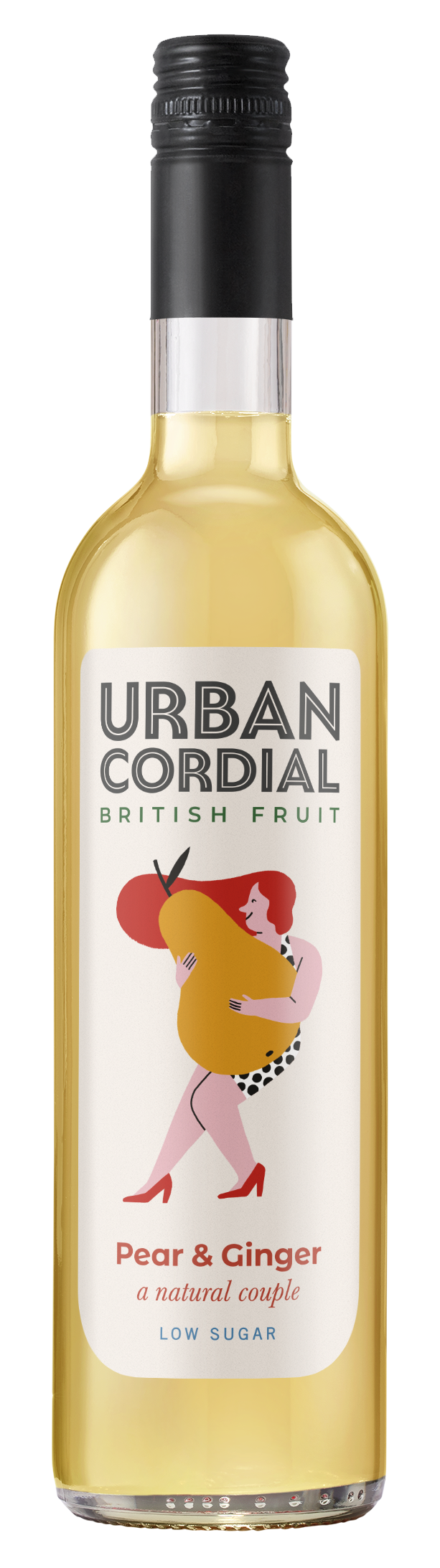Pear & Ginger Cordial by Urban Cordials 500ml