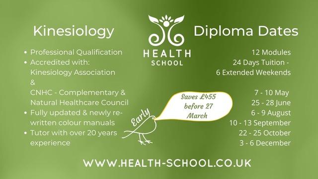 Kinesiology 12 Module Diploma Course