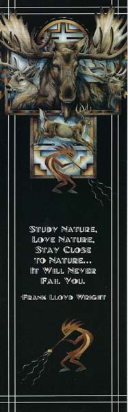 Bookmark - Study nature, love nature, stay close to nature... it will never fail you. Frank Lloyd Wright
