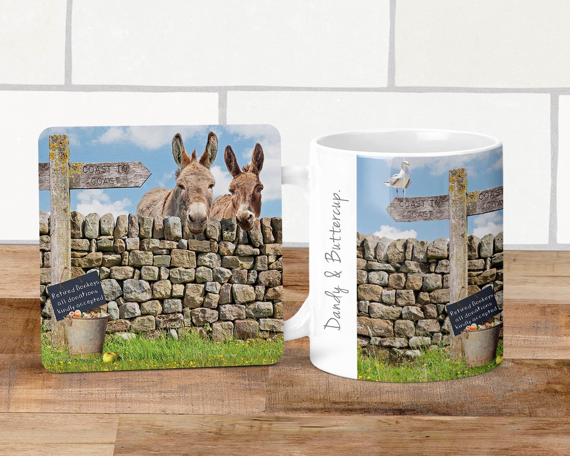 Donkey Mug - Dandy & Buttercup - Kitchy & Co