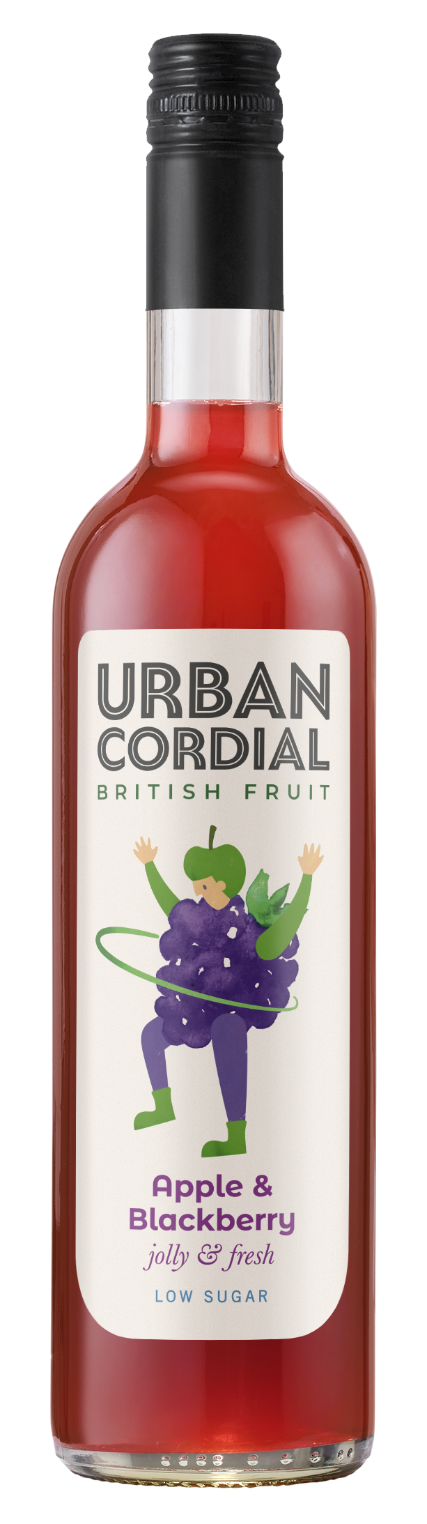 Apple & Blackberry Cordial by Urban Cordials 500ml