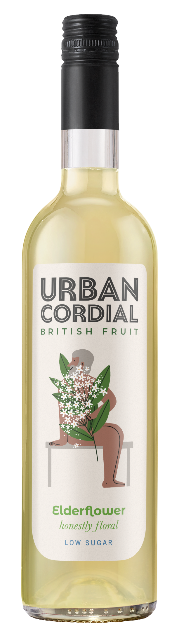 Elderflower Cordial by Urban Cordial 500ml