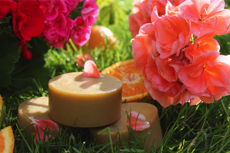 Saboon Alee - Geranium & Orange Soap