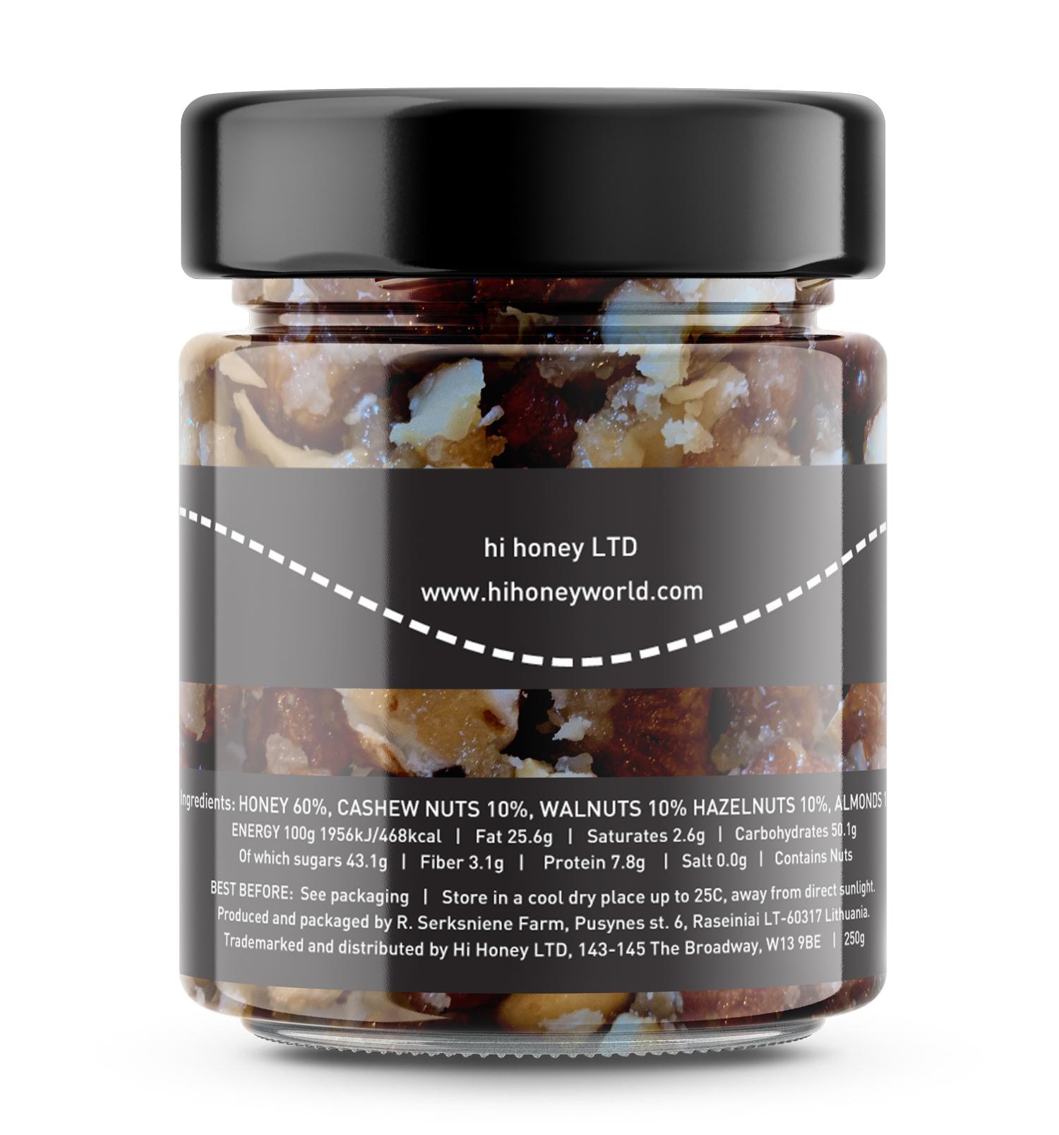 Hi Honey - Mixed Nut Honey