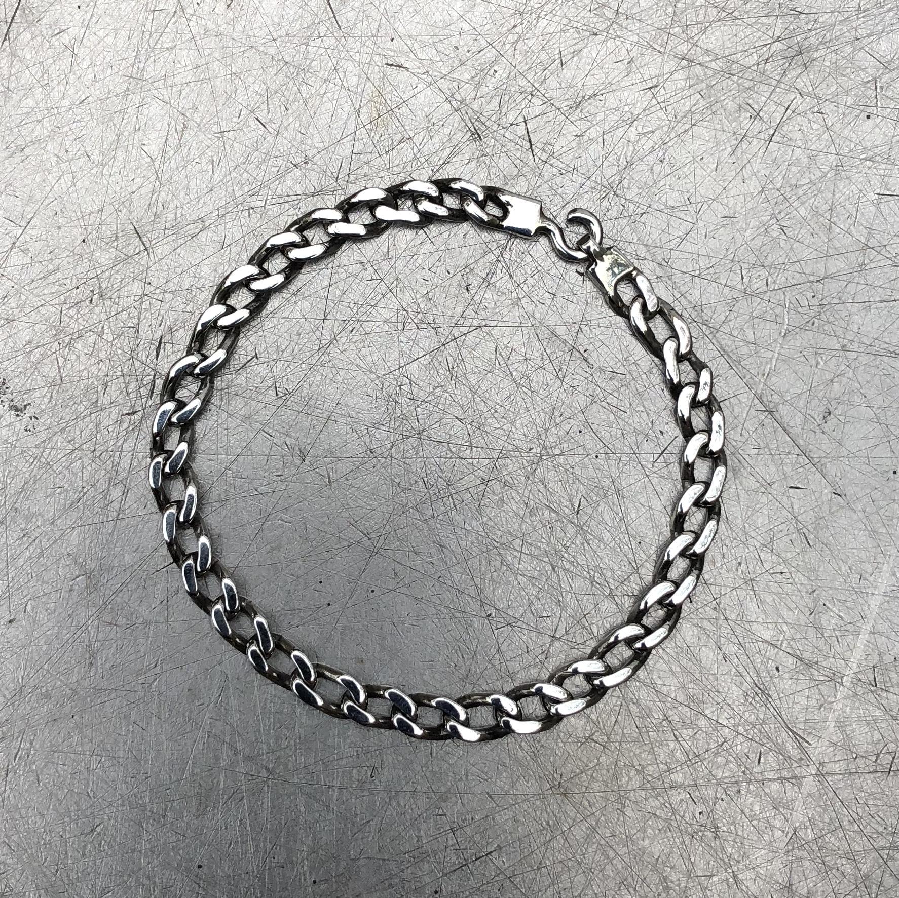 925 SILVER DIAMOND CUT CURB CHAIN