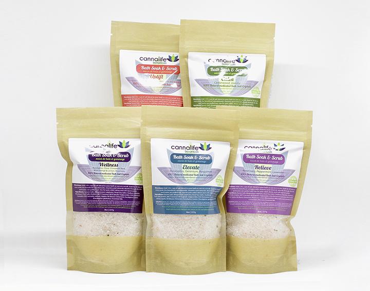 Cannalife - CBD Bath Salts